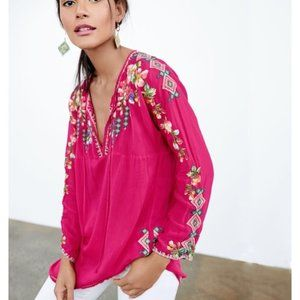 NWT Johnny Was Vanessa Blouse Size Small